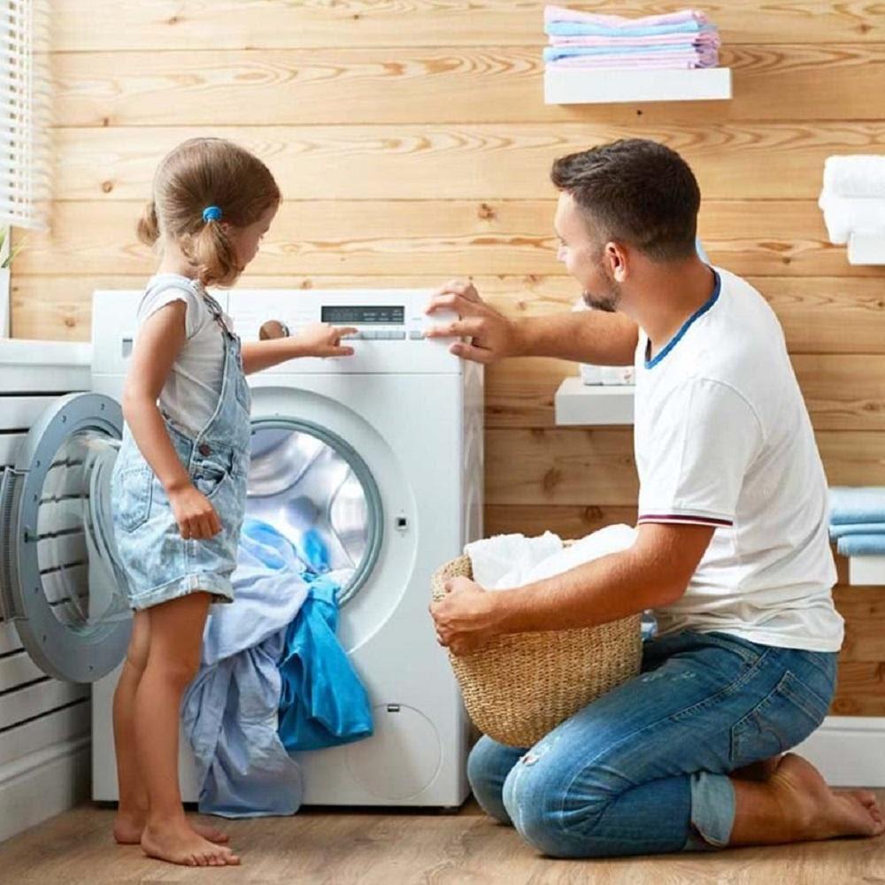 عدم تخلیه آب ماشین لباسشویی - خوبان